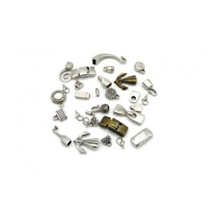 The types of clasps on our jewelry