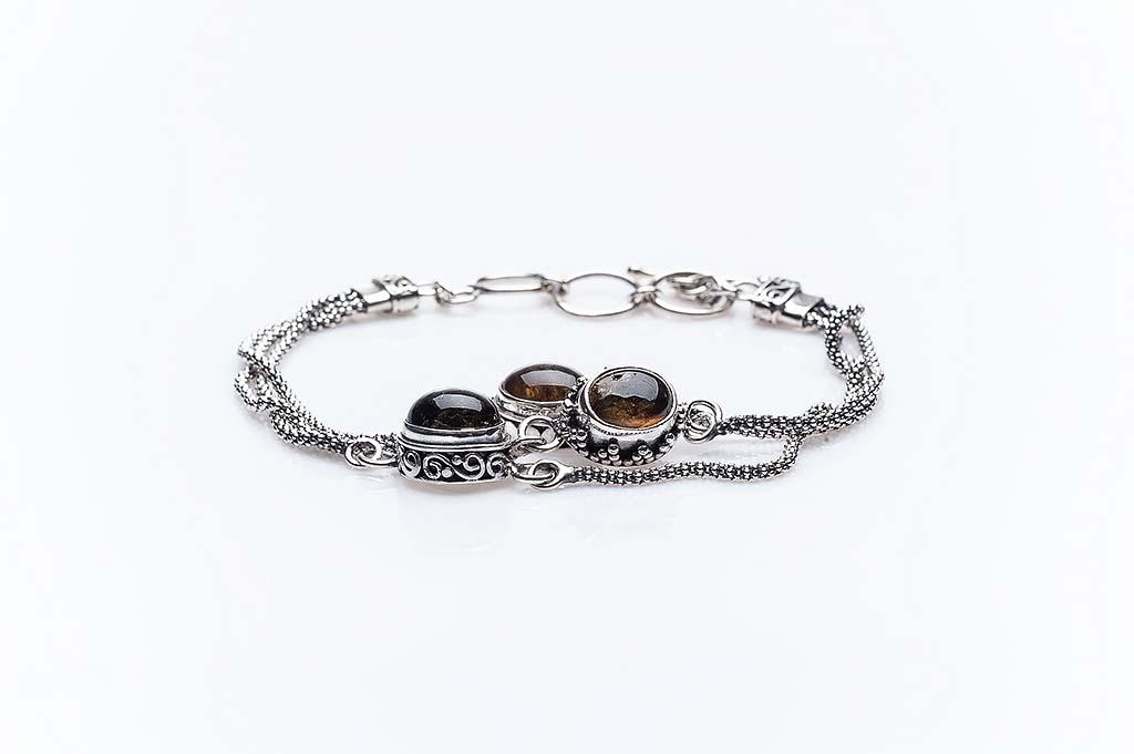 Women's silver bracelet Sugihe