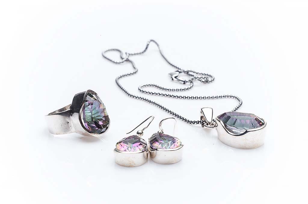 Silver set Gioiello