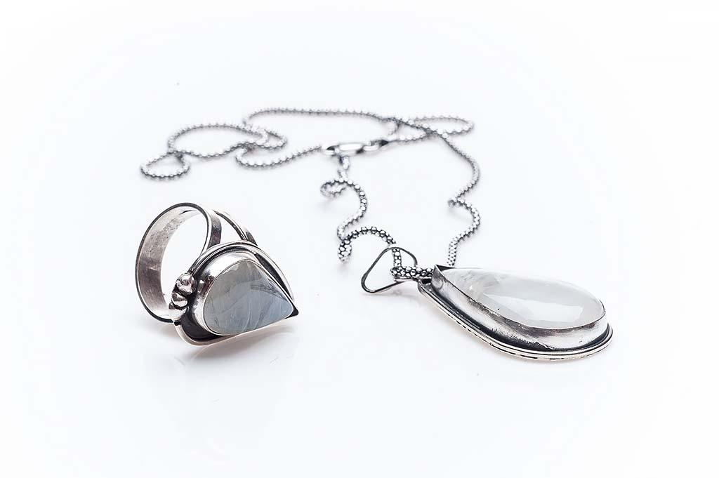 Silver set Momi