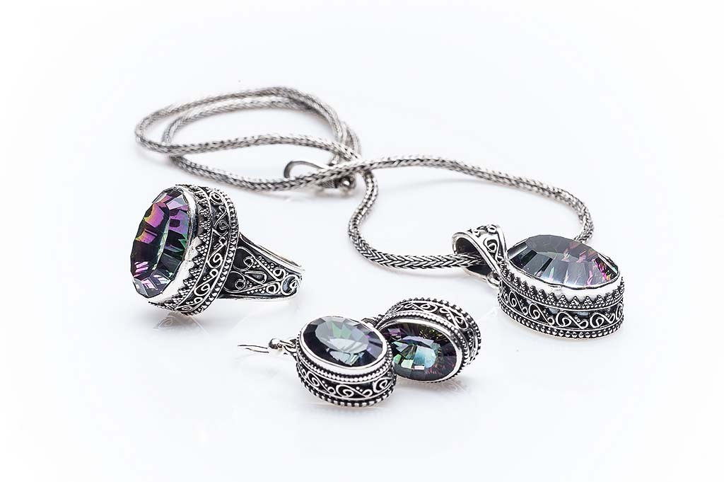 Silver set Alhaja
