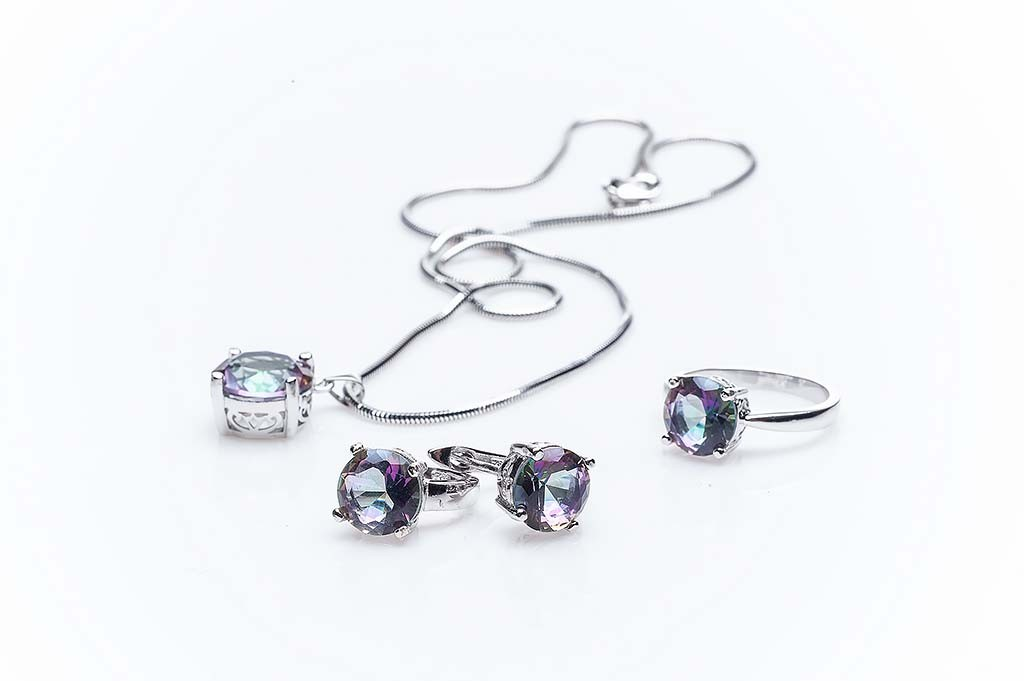 Silver set Joia