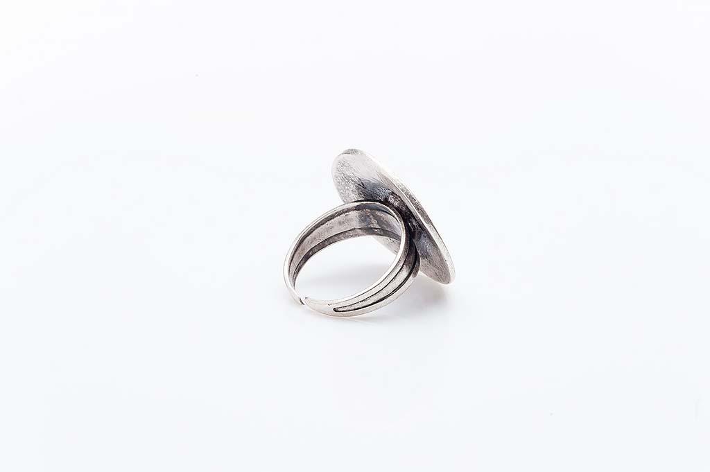 Посребрен пръстен КН-0303004002