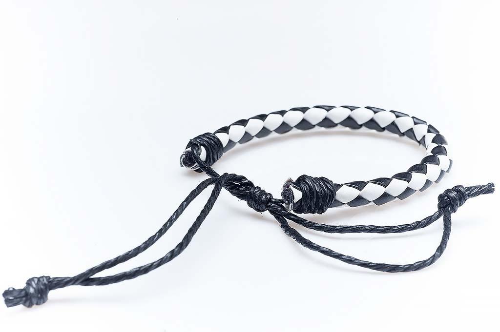 Women's leather bracelet Diana