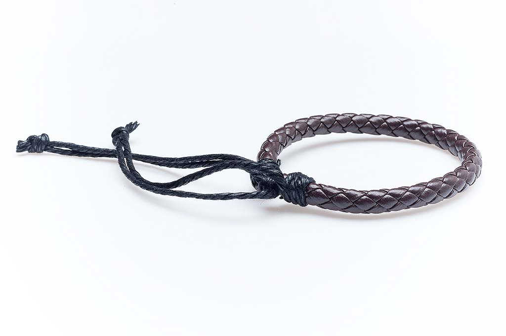 Women's leather bracelet Doina