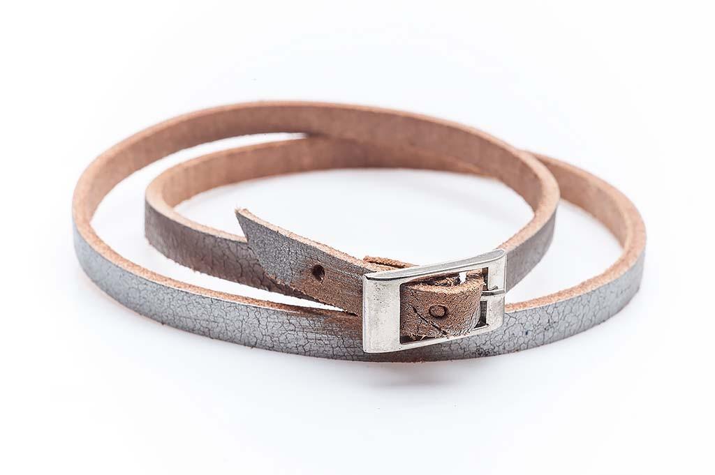 Women's leather bracelet Elisabetta
