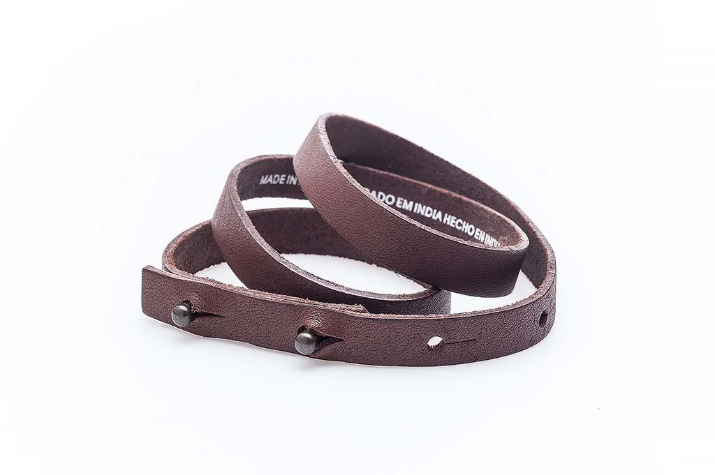 Women's leather bracelet Elisiana