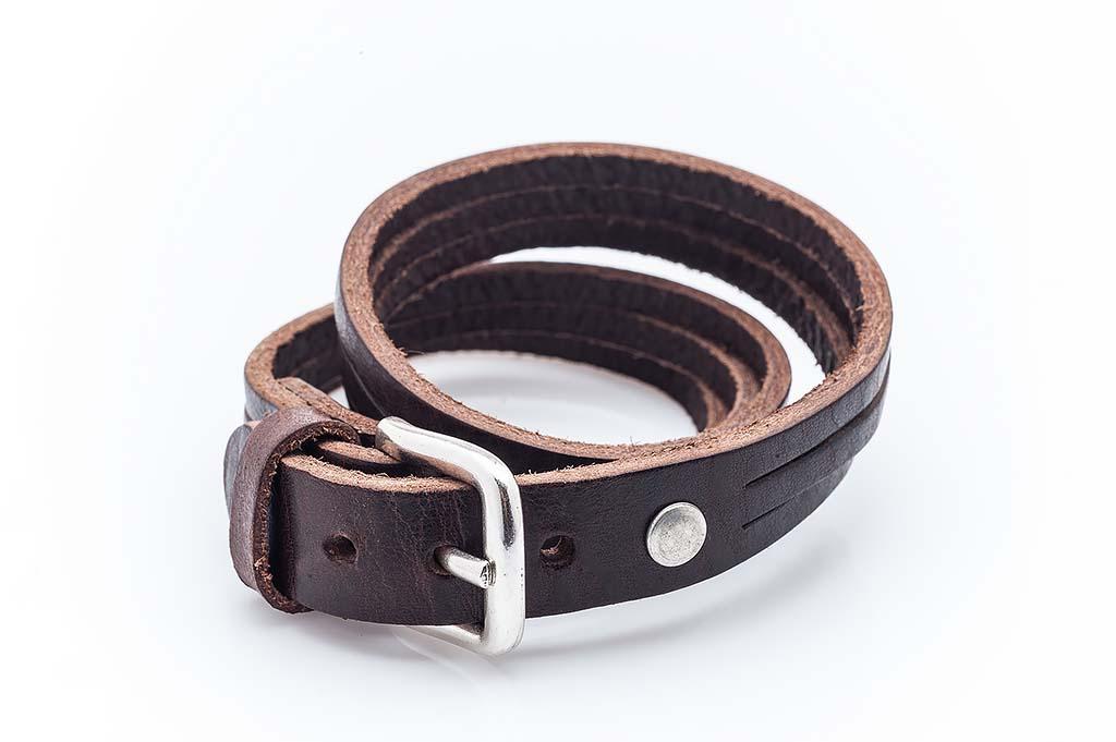 Women's leather bracelet Emily