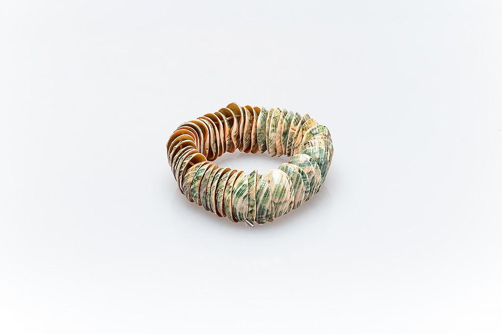 Women's bracelet made of mussel shells Marsela