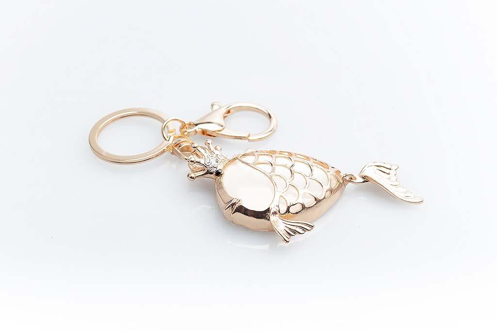 Women's keychain Golden fish