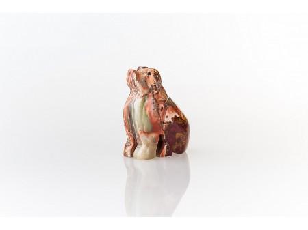 Сувенир изработен от естествен камък оникс